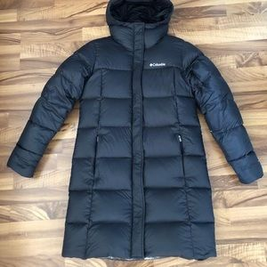 Columbia down parka